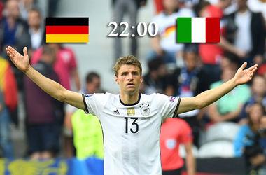 Евро-2016: онлайн матча Германия - Италия - Озил открыл счет в матче (фото, видео)