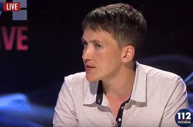 Савченко: Когда голодала в российской тюрьме, смотрела передачи о еде