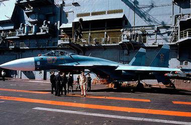 Россия намерена задействовать для бомбежек Сирии единственный авианесущий