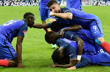 Евро-2016. Яркие кадры с матча Франция - Исландия