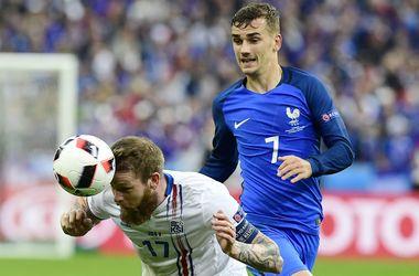 Евро-2016:Антуан Гризманн возглавил бомбардирскую гонку после 1/4 финала