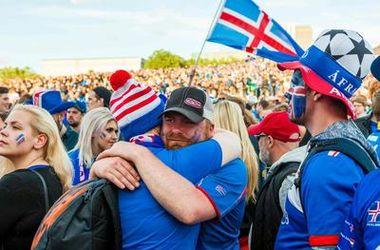 Как Исландию провожают с Евро-2016
