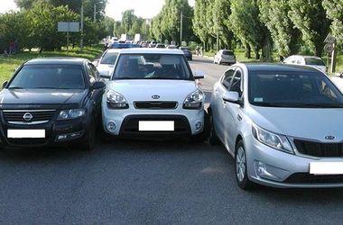 Тройное ДТП в Харькове: два пассажира