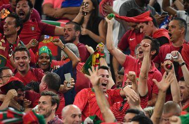 Евро-2016: Португалия оштрафована за поведение болельщиков в матче против Польши