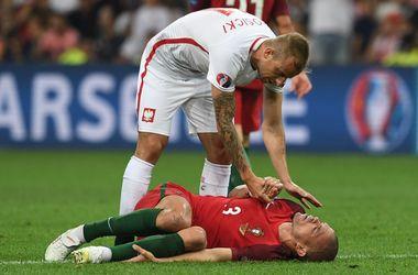 Евро-2016: Пепе может пропустить полуфинальный матч против Уэльса