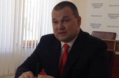 Зампрокурора Ровенской области задержан по подозрению в организации незаконной добычи янтаря