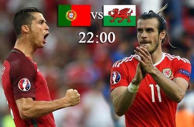 Евро-2016: онлайн матча Португалия - Уэльс (фото, видео)