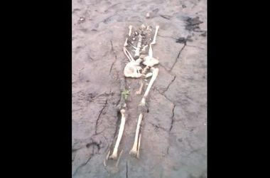 На российском пляже всплыли мертвецы