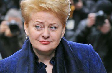 Литва не хочет, чтобы Россия ее опять оккупировала - Грибаускайте