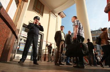 В Киеве патрульный побил дубинкой инвалида