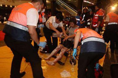 Три взрыва прогремели в поезде в столице Тайваня, как минимум 24 человека ранены