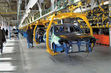Украинские автомобильные заводы приостановились