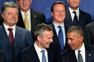 В Польше Порошенко встретился с Обамой и Меркель