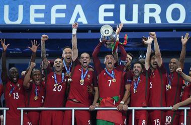 Евро-2016: Португалия заработала 25,5 миллиона евро за победу, Украина - в три раза меньше