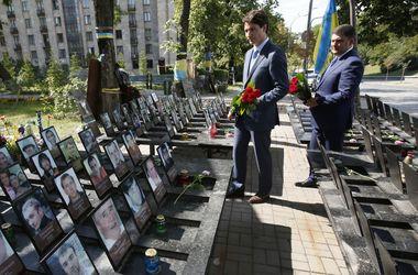 Трюдо поделился впечатлениями от первого дня визита в Украину