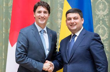 Гройсман назвал, чем будут торговать Украина и Канада в ЗСТ