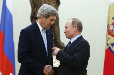Керри и Путин сегодня обсудят Донбасс