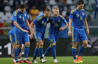 Сборная Украины потеряла 11 позиций в рейтинге ФИФА