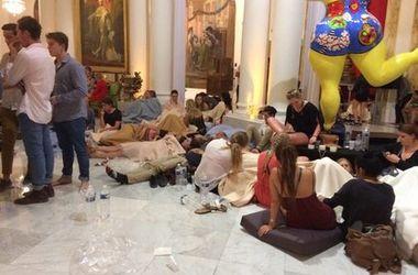 В Ницце фешенебельный отель Negresco превратили в полевой госпиталь