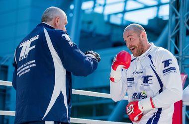 Тайсон Фьюри возобновил подготовку к реваншу против Кличко
