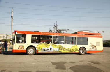В Кривом Роге запустили тестовый образец гибридного троллейбуса с дизель-генератором