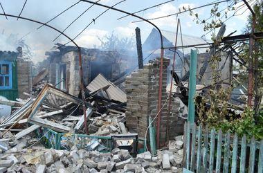 Под Краматорском взорвался дом, погиб 75-летний сосед от сердечного приступа