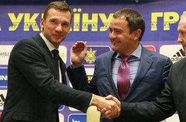 Официально: Андрей Шевченко - новый тренер сборной Украины