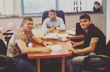 "Украинец Александр Нойок продлил контракт с минским ""Динамо"""