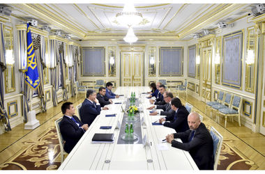 Порошенко встретился с депутатами Европарламента
