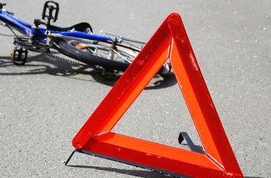 Под Киевом в ДТП едва не погибла 15-летняя велосипедистка