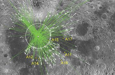 На Луне нашли следы столкновения с протопланетой