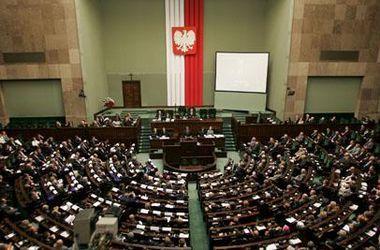 Польский сейм завершил рассмотрение вопроса о признании Волынской трагедии геноцидом
