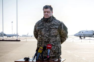 Порошенко обещает мирным путем освободить Донбасс