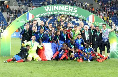 Сборная Франции выиграла юношеский чемпионат Европы