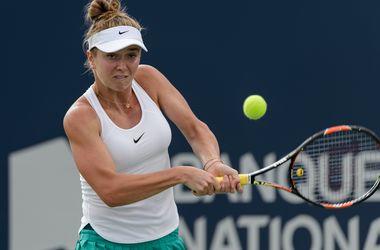 Элина Свитолина с победы стартовала на турнире в Монреале
