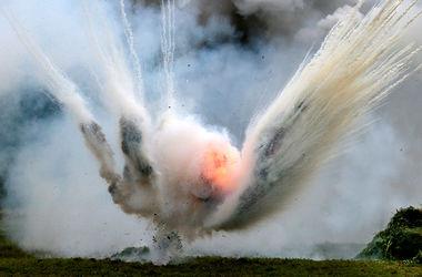 Бомбу, найденную на пути Крестного хода, взорвали