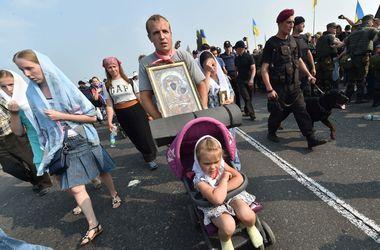 Аваков сообщил о задержании шести человек во время Крестного хода