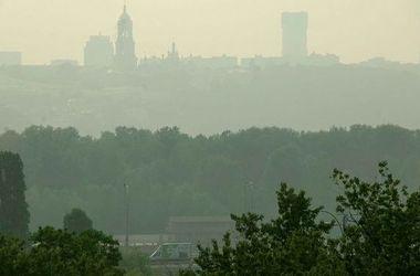 Чиновники назвали причину смога в Киеве