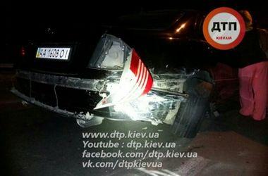 В Киеве водитель иномарки разбил шесть машин и сбежал
