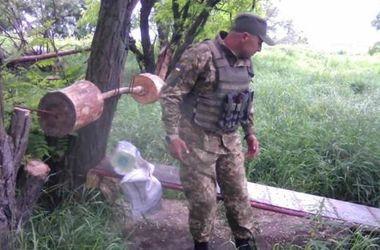 """""""Спортзалы"""" украинских бойцов на Донбассе"""