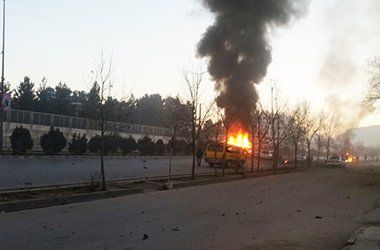 В столице Афганистана у отеля, где могут находиться туристы, идет бой