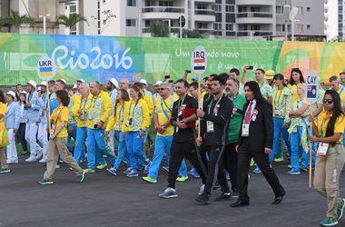 В Олимпийской деревне торжественно подняли флаг Украины