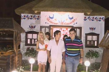 Впервые в Украине состоялось ночное бракосочетание