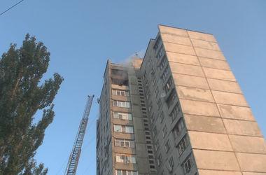 В Харькове горела 16-этажка