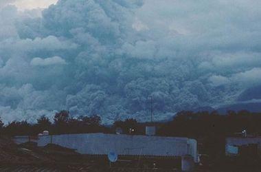 Мехико накрыло пеплом от вулкана