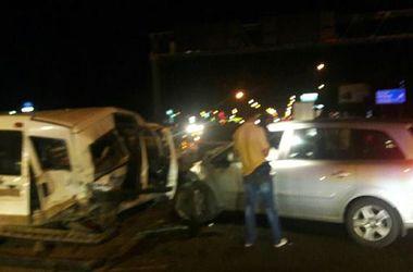 Пьяный водитель сбил патрульных, оформлявших ДТП в Киеве