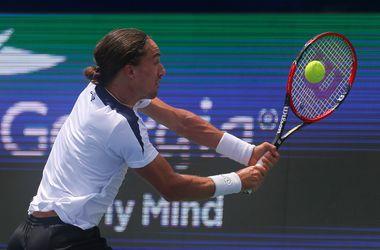 Лучший украинский теннисист проиграл 97-й ракетке мира в США