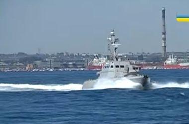Как в Одессе испытывают бронированные артиллерийские катера