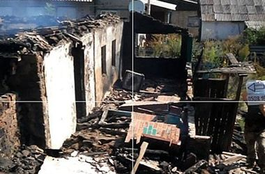 В Зайцево 120-мм мина боевиков разрушила жилой дом - Штаб