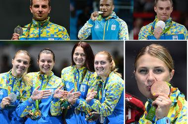 Все украинские результаты Олимпиады-2016 в Рио